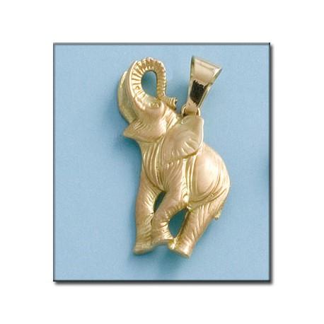 Colgante Elefante Oro 1ª Ley