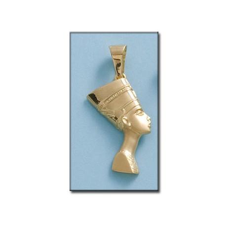 Cabeza con Cara de Nefertiti Oro 1ª Ley