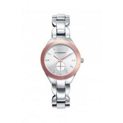 Reloj Bicolor Ip Rosa Viceroy Señora 40906-00