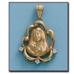 Medalla de la Madre Oro 1ª Ley 18 Kilates