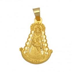 Medalla Virgen del Rocio Oro 1ª Ley 18 Kilates