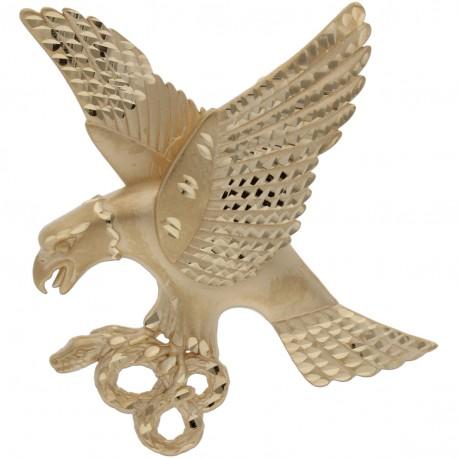 Colgante Aguila Oro 1ª Ley 18 Kilates