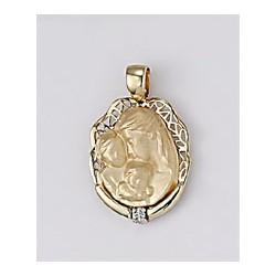 Medalla Madre Oro 1ª Ley 18K