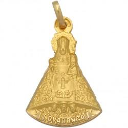 Medalla Virgen de Covadonga Oro 1ª Ley 18 Kilates