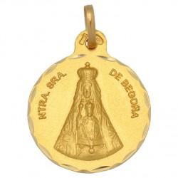 Medalla Virgen de Begoña Oro 1ª Ley 18 kilates