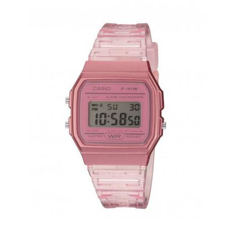 Reloj Casio Digital Color Rosa