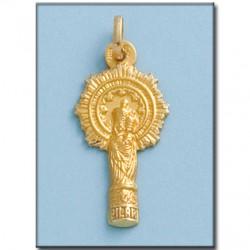 Medalla Virgen del Pilar Oro 1ª Ley