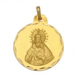 Medalla Virgen de la Macarena Oro 1ª Ley 18 Kilates