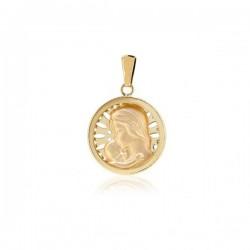 Medalla Madre Oro 1ª Ley 18 Kilates