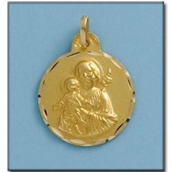 Medalla San Jose Oro 1ª Ley